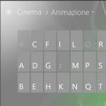 Sezione animazione - semantic zoom
