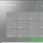Sezione cinema - semantic zoom